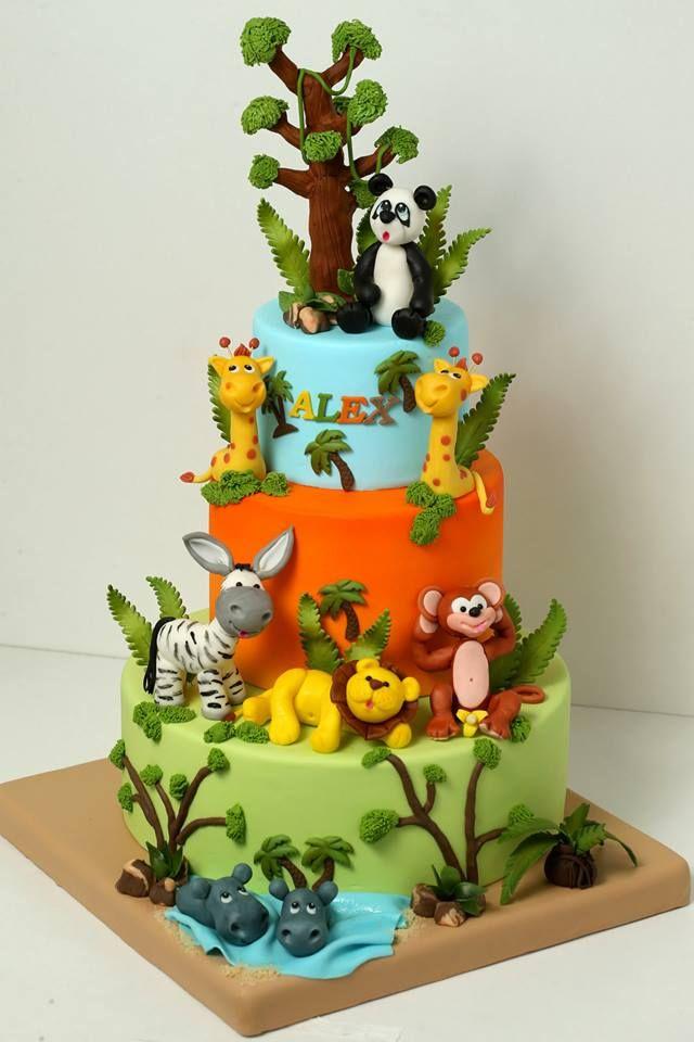 Jungle/Safari cake