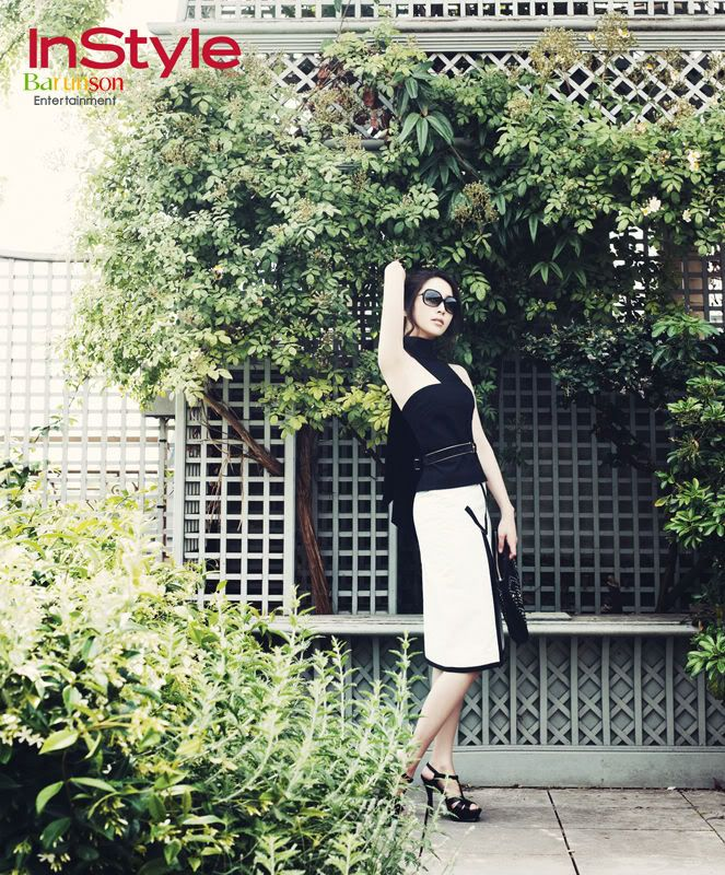 Lee Min Jung in Paris for Instyle Korea   A Koala's Playground