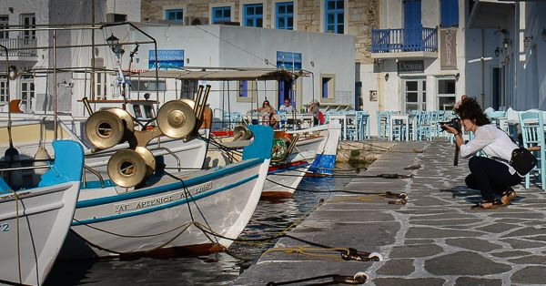 Naoussa, Paros: A photographer's dream