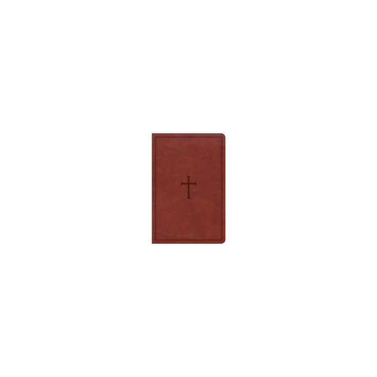 Holy Bible : Christian Standard Bible, Personal Size Reference Bible, Brown Leathertouch, Indexed