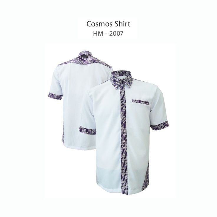 Cosmos Shirt HM-2007  #kemejabatikmedogh  http://medogh.com/baju-batik-pria/kemeja-batik-pria