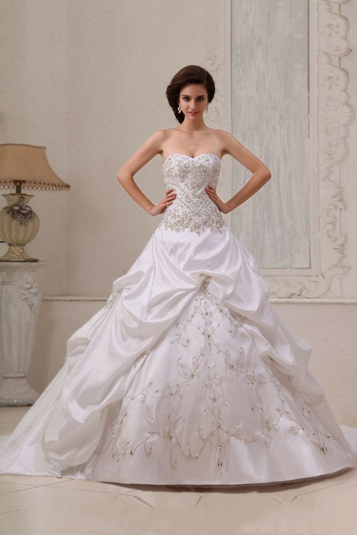 Ronald joyce lace wedding dress september 2018  best Wedding dresses images on Pinterest  Wedding dressses