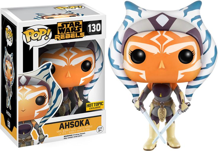 <p>Today it was announced that Star Wars Rebels and specifically Ahsoka Tano are coming to Funko this Fall. The announcement was made at Star Wars Celebration in Europe and Hot Topic announced their exclusive Ahsoka on Twitter. Here