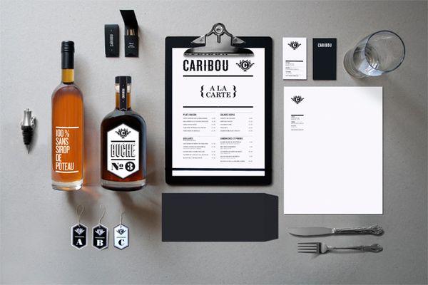 Caribou by Maxime Brunelle, via Behance