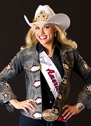 Reigning Miss Rodeo America