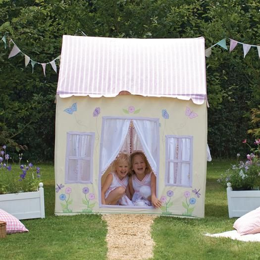 Butterfly Cottage Playhouse. See our website for more beautiful playhouses.  sc 1 st  Pinterest & 17 best Playhouses Pavilions Hanging Tents. images on Pinterest ...