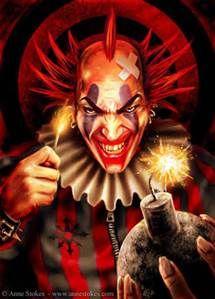 Ann STOKES/evil clown