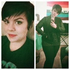 fat girls + short hair = YES! • If it weren't for this blog and the beautiful...