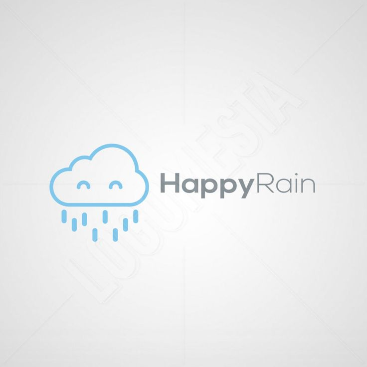 Logo Designs | Happy Rain Logo Design | LogoMesta