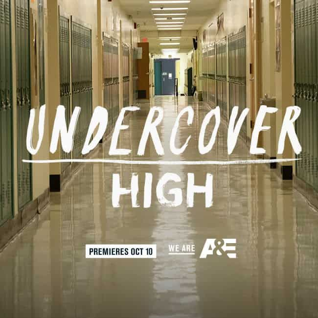 A&E Network New Docuseries Premiere Undercover High Debuts January 9 #UndercoverHigh
