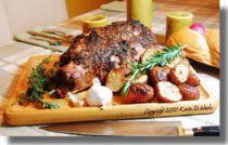 Roast Lamb Leg: A Taste of Greece: Roast Leg of Lamb