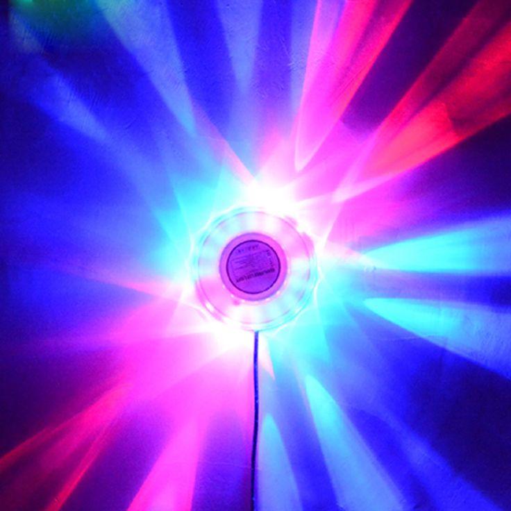 Party dj club disco light show lumiere colorida sala de bodas beam luces de fondo de mini rgb lámparas led del efecto de etapa de iluminación