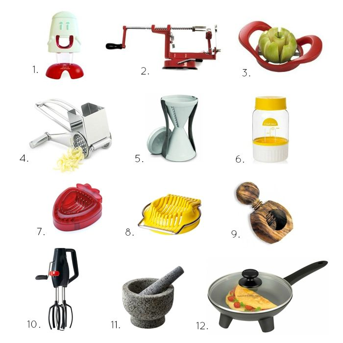 Our most used kitchen gadgets