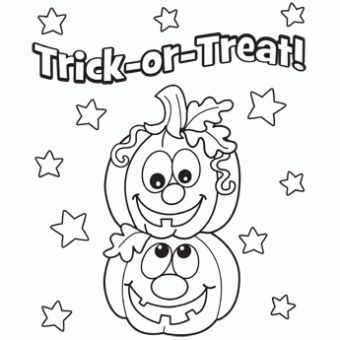 Best Halloween Coloring Pages Images On Pinterest  Halloween
