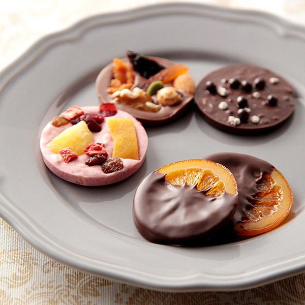 彩り豊かな4種類のショコラをギフトに。【バレンタインデー届け専用】トロンソンオランジュとマンディアンのギフト