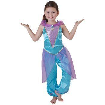 Prenses Jasmine Çocuk Kostüm 3-4 Yaş Royale