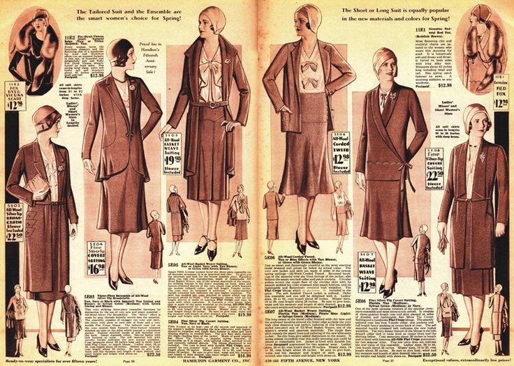 1930s - Past A La Mode: A Historical Fashion Site