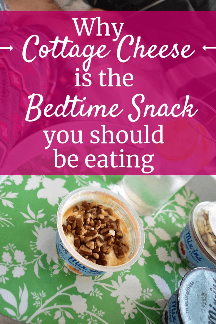 Here S Why Cottage Cheese Before Bed Can Help Athletes Recover