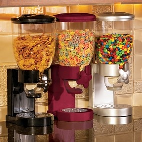 So much better than cereal boxes sitting around or getting spilled in the pantry!