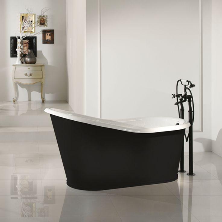 Vasca da bagno freestanding di design in ghisa verniciata Old. By Viadurini Collezione Bagno. [www.viadurini.]