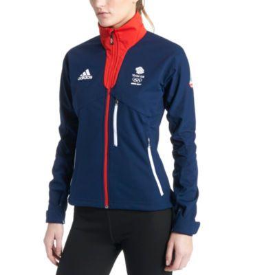 Team GB Women's Sochi 2014 Softshell Jacket