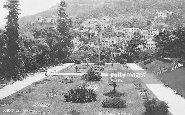 ニュース写真 : The Public Gardens,Hong Kong, circa 1910.