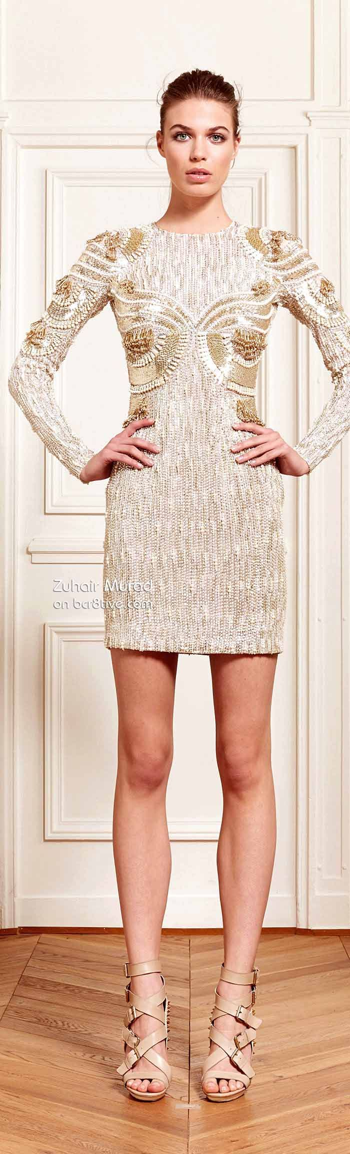Zuhair Murad Resort 2014 www.finditforweddings.com