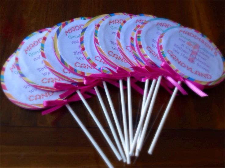 #BabyShowerInvitation Custom Candyland party invites Swivel baby shower Lollipop invitation Special occasion on a stick Card Candy Candy Land any color Birthday party Handmade quick ship Lollipop 35.00 USD AllElegant