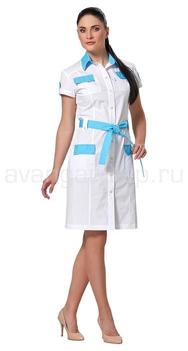 """Платье женское LL4102 Lantana / Халаты / Женская одежда """"Lantana"""" / Медицинская одежда"""