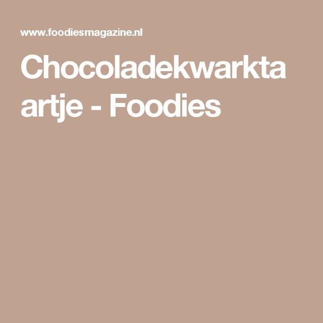 Chocoladekwarktaartje - Foodies