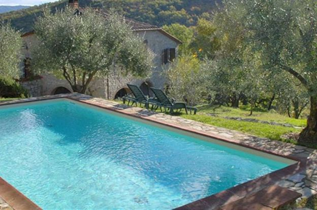Chianti Farmhouse with Annex, Pool and Land - V3721AB-X