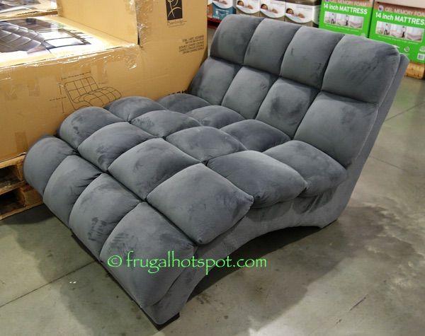 Costco Bainbridge Double Chaise Lounge 349 99 Double Chaise Lounge Chaise Lounge Living Room Fancy Chair