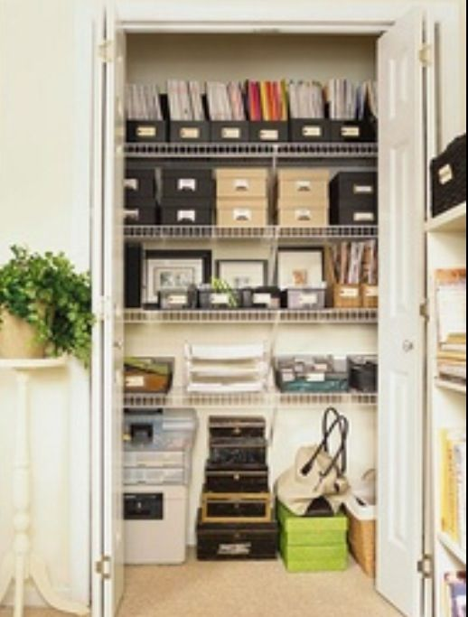Great idea for organizing the office!