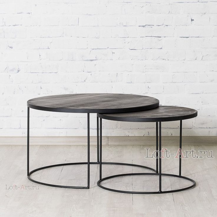 Столики BROOKLIN - Журнальные столы - Гостиная и кабинет - Мебель по комнатам В стиле Лофт купить