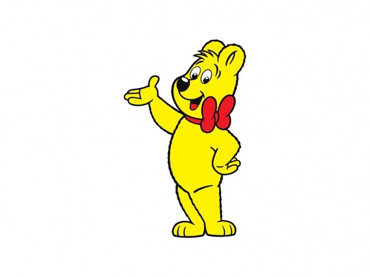 Haribo Bear Cartoon Character Vector Logo