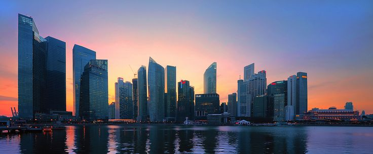 Singapur Skyline - null