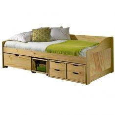 Zvýšená postel 90x200 cm s roštem 8809