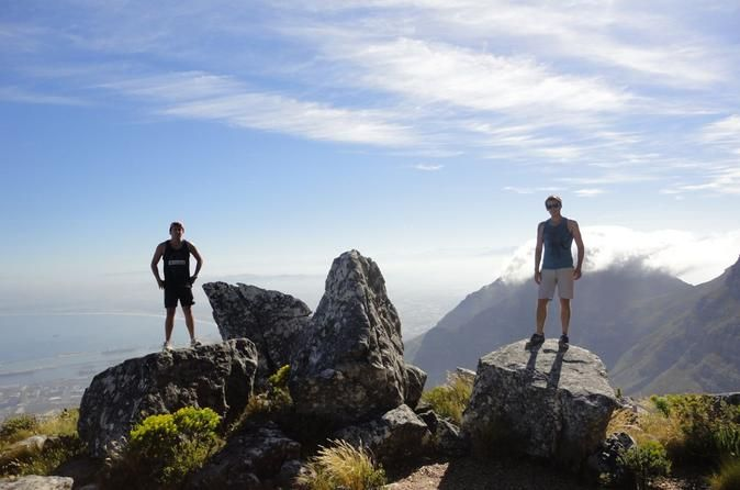 India Venster Route: Hiking in Table Mountain from Cape Town This adventurous hike is a great way to get a birds eye view over the City of Cape Town while enjoying the beauty of nature that surrounds you. This hike features fun rock scrambling and an in depth look at our local history, flora and fauna. Your trip also includes free pick up and drop off from your hotel in the city centre.You will be collected from your centrally located hotel at 6:30am and transported to the bas...