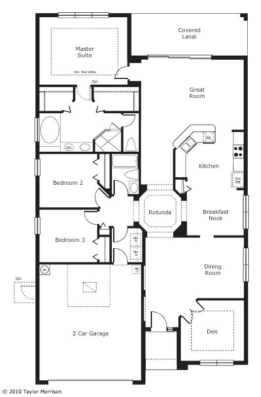 Taylor Morrison Pinehurst Floor Plan I Like This The