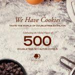 ダブルツリーbyヒルトン、500軒目のホテル開業を記念して、初のグローバル・クックブックを発表