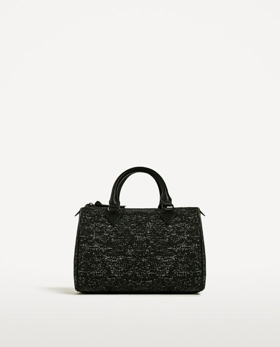 Image 2 of FABRIC BOWLING BAG from Zara