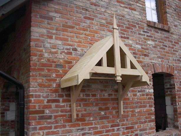 Daszek drewniany nad drzwi wejściowe Borzechowo - image 5