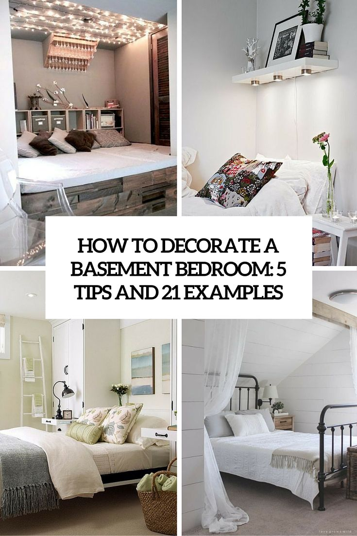 how to decorate a basement bedroom 5 ideas and 21 examples