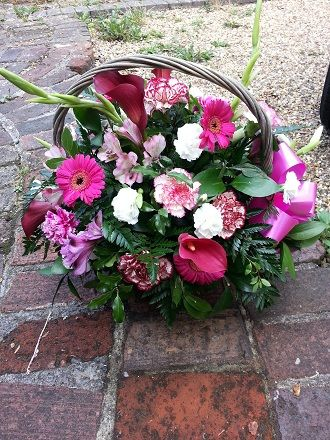 Mother of the Bride, Thank-you Basket