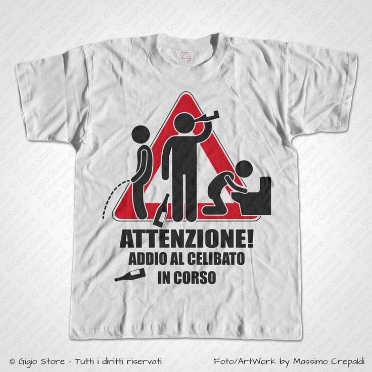 Super 16 best Magliette Addio al Celibato images on Pinterest   Gift  PM38