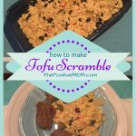 how to make vegan tofu scramble for breakfast (dairy free egg substitute)