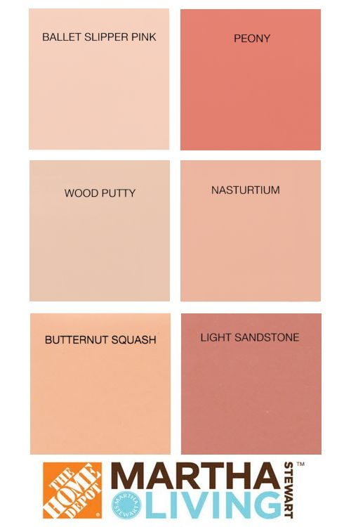Martha Stewart Paints - sweet colors for a little girl's room