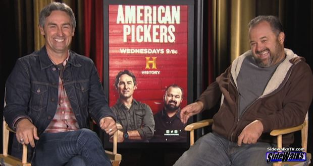 Interview: Mike Wolfe and Frank Fritz (American Pickers ...