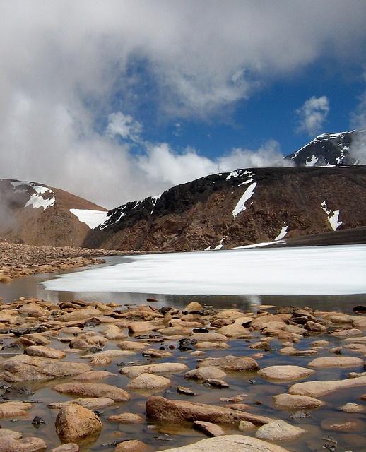 La Laguna del Platita, Mendoza, Argentina.