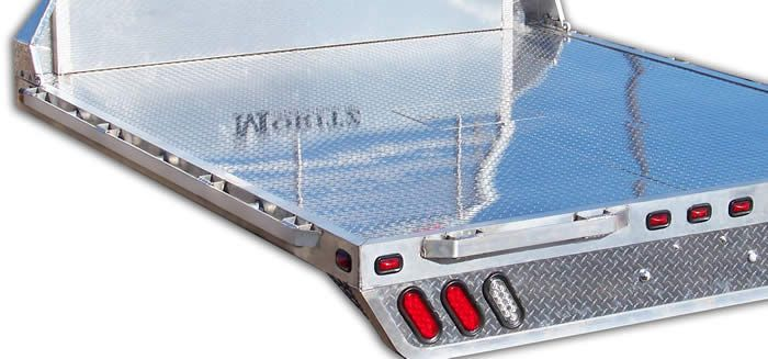 Aluminum Truck Bed Manufacturer - TBA Series - Moritz Trailers